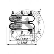 Dunlop Air Bag 10 * 2 PNP305450112